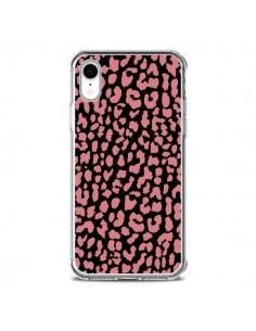 Coque iPhone XR Leopard Corail - Mary Nesrala