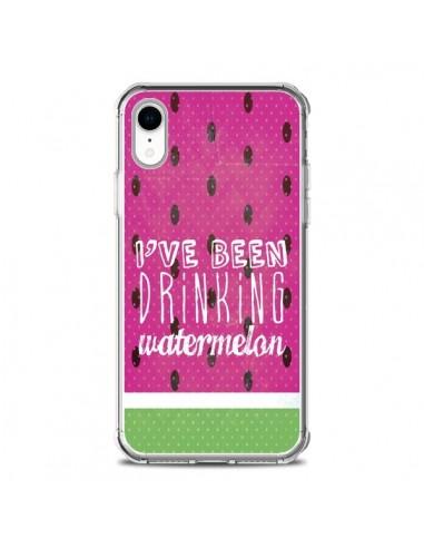 Coque iPhone XR Pasteque Watermelon -...