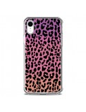 Coque iPhone XR Leopard Hot Rose Corail - Mary Nesrala