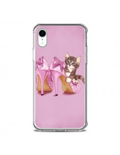 Coque iPhone XR Chaton Chat Kitten Chaussure Shoes - Maryline Cazenave
