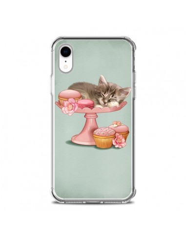Coque iPhone XR Chaton Chat Kitten...