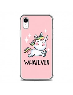 Coque iPhone XR Licorne Whatever - Maryline Cazenave