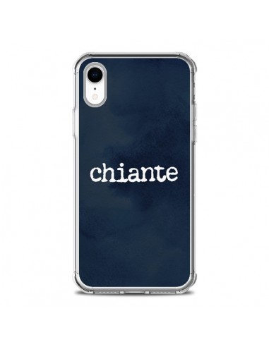 Coque iPhone XR Chiante - Maryline...