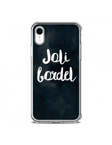Coque iPhone XR Joli Bordel -...