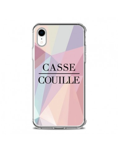 Coque iPhone XR Casse Couille -...