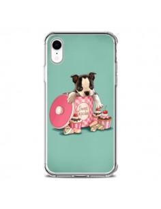 Coque iPhone XR Chien Dog Cupcakes Gateau Boite - Maryline Cazenave