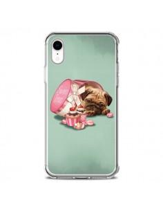 Coque iPhone XR Chien Dog Cupcakes Gateau Bonbon Boite - Maryline Cazenave