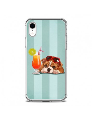 Coque iPhone XR Chien Dog Cocktail...