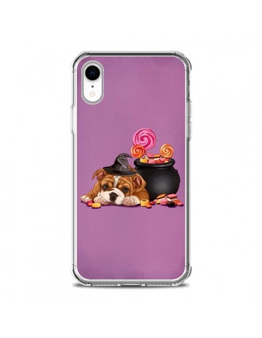 Coque iPhone XR Chien Dog Halloween...