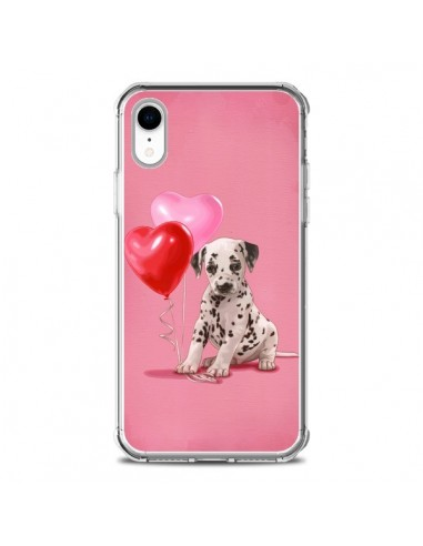 Coque iPhone XR Chien Dog Dalmatien...