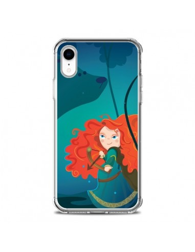 Coque iPhone XR Rebelle Brave - Maria...