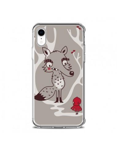 Coque iPhone XR Le Petit Chaperon Rouge Loup - Maria Jose Da Luz
