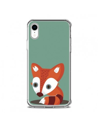 Coque iPhone XR Renard - Maria Jose...