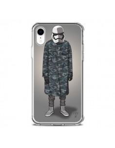 Coque iPhone XR White Trooper Soldat Yeezy - Mikadololo