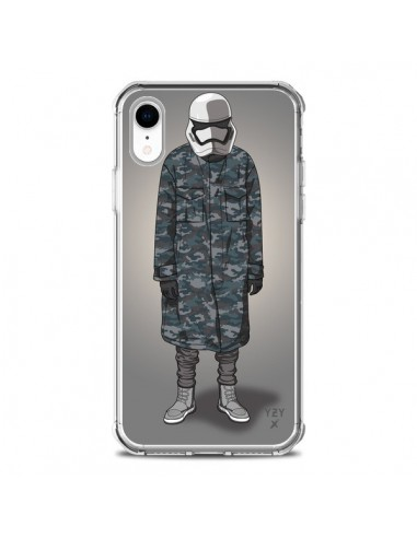 Coque iPhone XR White Trooper Soldat Yeezy - Mikadololo