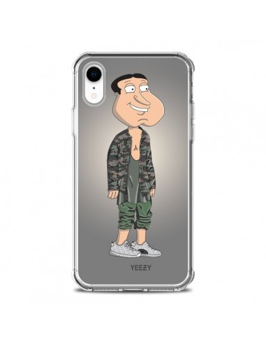 Coque iPhone XR Quagmire Family Guy Yeezy - Mikadololo