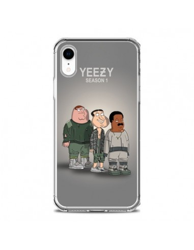 Coque iPhone XR Squad Family Guy Yeezy - Mikadololo