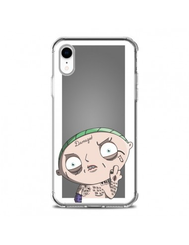 Coque iPhone XR Stewie Joker Suicide Squad - Mikadololo