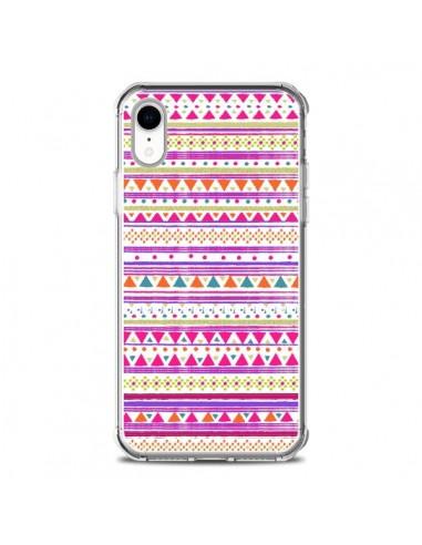 Coque iPhone XR Bandana Rose Azteque - Monica Martinez