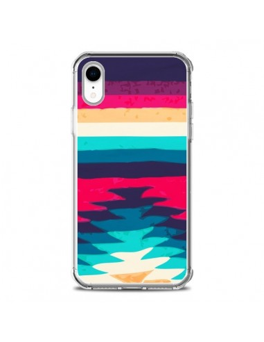 Coque iPhone XR Surf Azteque - Monica...