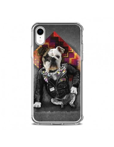 Coque iPhone XR Chien Bad Dog - Maximilian San