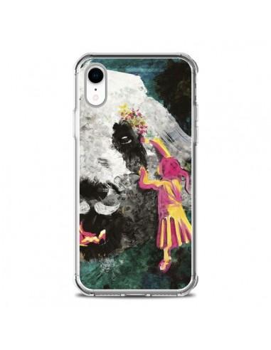 Coque iPhone XR Panda Pandamonium -...