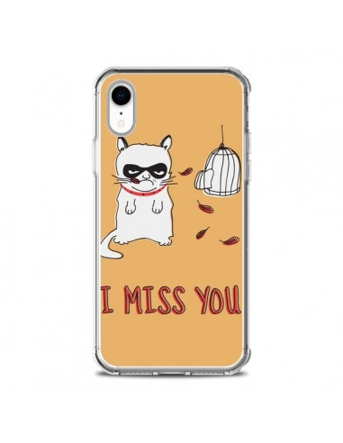 Coque iPhone XR Chat I Miss You - Maximilian San