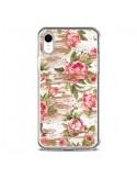 Coque iPhone XR Eco Love Pattern Bois Fleur - Maximilian San