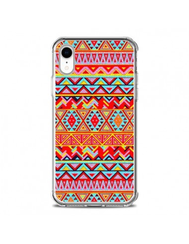 Coque iPhone XR India Style Pattern Bois Azteque - Maximilian San