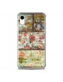 Coque iPhone XR Lady Rococo Bois Fleur - Maximilian San