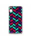 Coque iPhone XR Azteque Geometric Mundo - Maximilian San