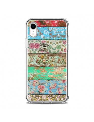 Coque iPhone XR Rococo Style Bois Fleur - Maximilian San