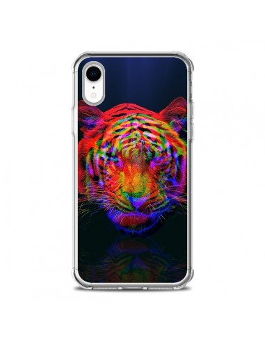 Coque iPhone XR Tigre Beautiful Aberration - Maximilian San
