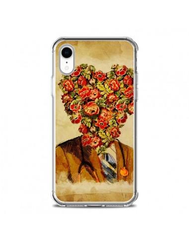 Coque iPhone XR Docteur Love Fleurs - Maximilian San