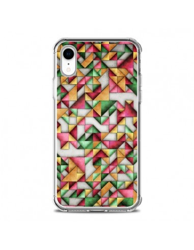 Coque iPhone XR Azteque Triangle Geometric World - Maximilian San