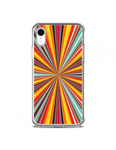 Coque iPhone XR Horizon Bandes Multicolores - Maximilian San