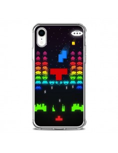 Coque iPhone XR Invatris Space Invaders Tetris Jeu - Maximilian San
