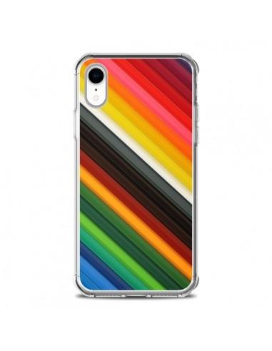 Coque iPhone XR Arc en Ciel Rainbow - Maximilian San