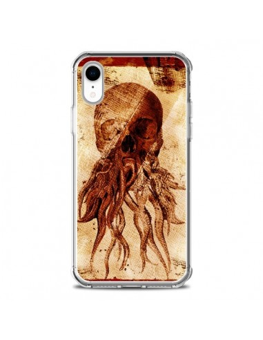 Coque iPhone XR Octopu Skull Poulpe...