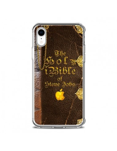 Coque iPhone XR Livre de Steve Jobs - Maximilian San