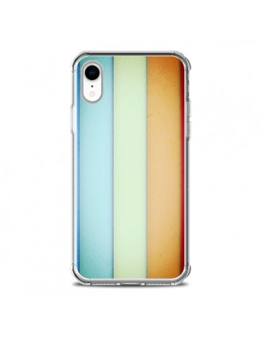 Coque iPhone XR Lignes Verticales Geometric - Maximilian San