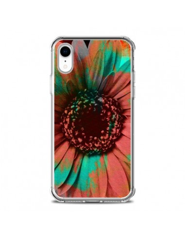 Coque iPhone XR Tournesol Lysergic Flower - Maximilian San