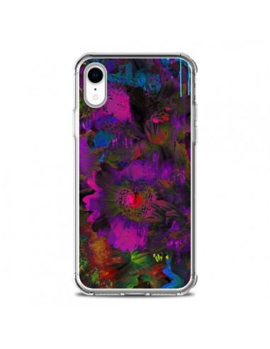 Coque iPhone XR Fleurs Lysergic Lujan...