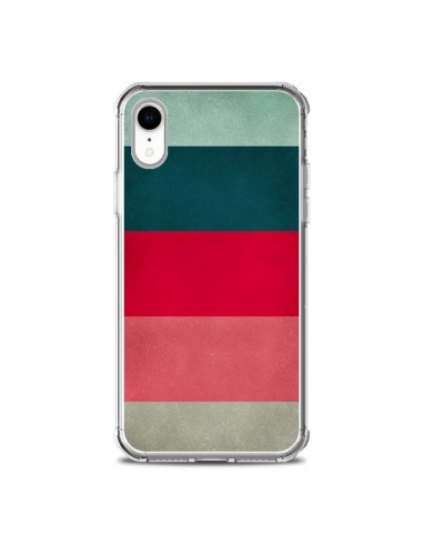 Coque iPhone XR Bandes New York City Hues - Maximilian San
