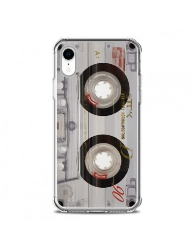 Coque iPhone XR Cassette Transparente...
