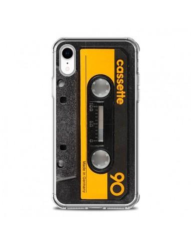 Coque iPhone XR Yellow Cassette K7 - Maximilian San