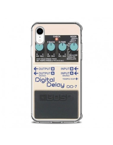 Coque iPhone XR Digital Delay Radio...