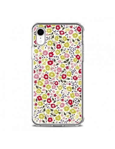 Coque iPhone XR Liberty Fleurs - Nico