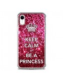 Coque iPhone XR Keep Calm and Be A Princess - Nico