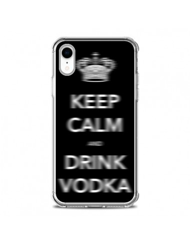 Coque iPhone XR Keep Calm and Drink...